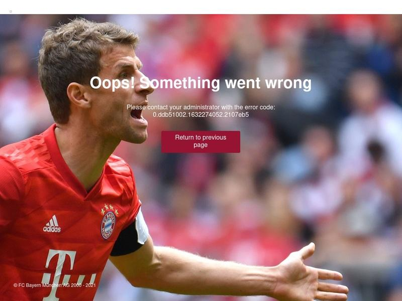 Screenshot von www.fcbayern.com/de/allianz-arena
